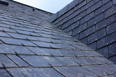 Slate Tiled Roof Installation in Taunton