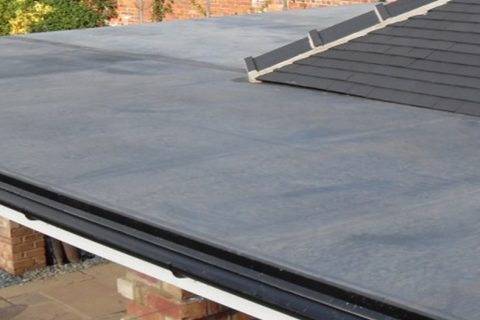 EPDM Rubber Roof Specialists in Brent Knoll