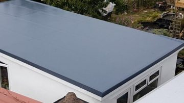 Flat roofs in Combwich